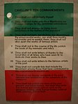 Mail art- Cavellini's Ten Commandments (3804028502).jpg