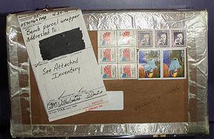 Letter bomb - Image: Mailbomb