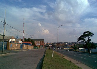 Roodepoort - Main Reef Road is an important East-West road linking up many suburbs of the City.