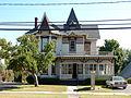 Main St 215, King-Post House, Penn Yan HD 01.JPG