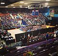 Maine State Cheering Competitio held at the Augusta Civic Center 2014.jpg