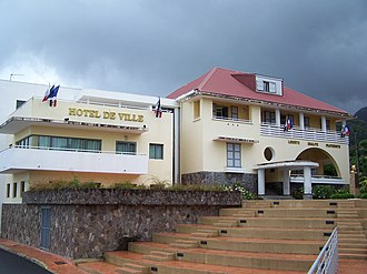 Saint-Claude, Guadeloupe - The new town hall of Saint-Claude