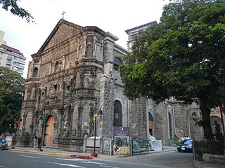 Church in Manila, Philippines