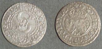 Polish złoty - Sigismund III Vasa szeląg