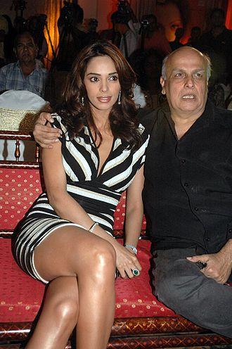 Mallika Sherawat - Mallika Sherawat with Mahesh Bhatt, 2007