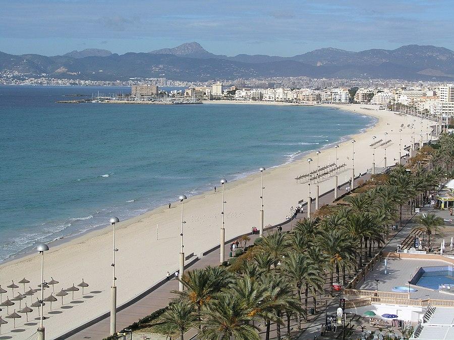 Mallorca Platja de Palma Winter