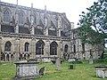 Malmesbury Abbey graveyard - geograph.org.uk - 1439413.jpg