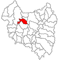 Location of Malnaş
