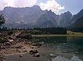 Mangart lago fusine weissenfelser see.jpg