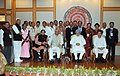 Manmohan Singh with the Awardee Teachers ahead of Teachers' Day, in New Delhi. The Union Minister for Human Resource Development, Dr. M.M. Pallam Raju and the Ministers of State for Human Resource Development (7).jpg