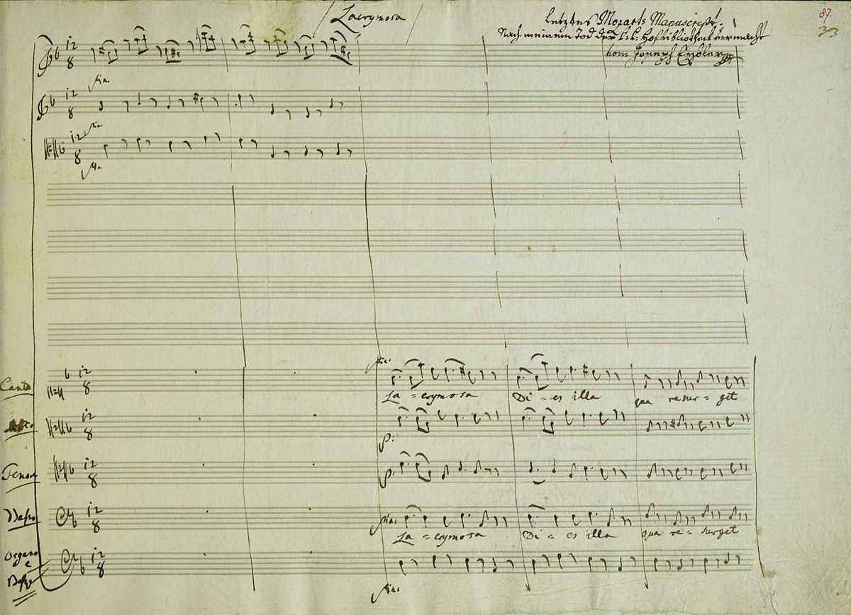 Requiem Mozart –