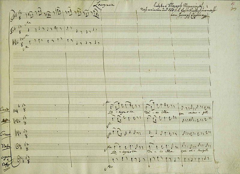 File:Manuscript of the last page of Requiem.jpg