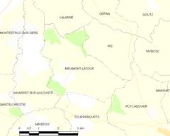 Map commune FR insee code 32255.png