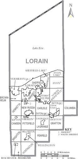 Elyria Township Lorain County Ohio Wikipedia