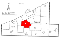 Map of McKean Township, Erie County, Pennsylvania Highlighted.png