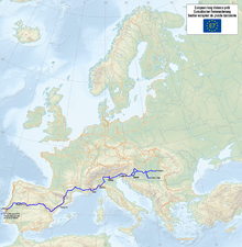 Map of the European Long Distance Path E7.png