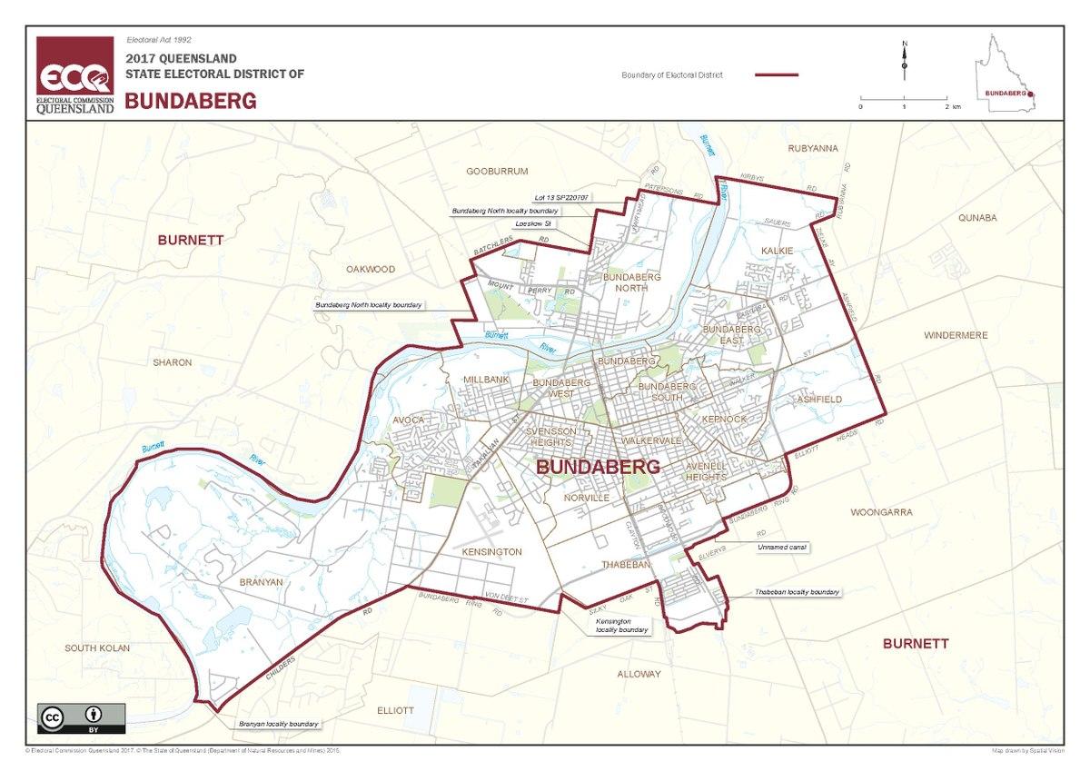 Electoral District Of Bundaberg Wikipedia