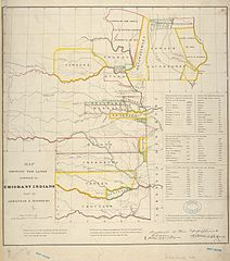 File:Map showing the lands assigned to emigrant Indians west of