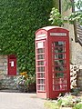 Mappowder, postbox No. DT10 52 and telephone - geograph.org.uk - 1374863.jpg