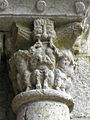 Marcilhac-sur-Celé (46) Abbaye Salle capitulaire Chapiteau 13.JPG