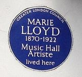 blue plaque commemorating Lloyd