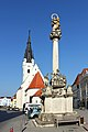 Mariensäule am Kirchenplatz von Horn 2014-08.jpg