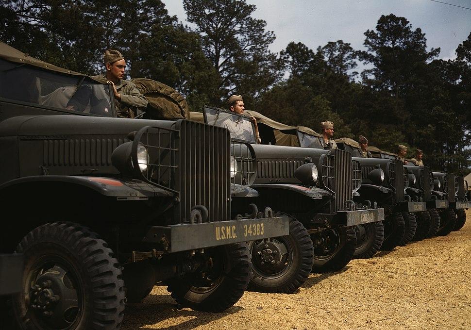 Marine trucks