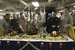 Marines and Sailors celebrate Christmas aboard the USS Arlington (LPD-24) 151225-M-WC184-886.jpg