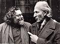 Mario Tozzi nel 1978 Parigi con Pierre Restany.jpg