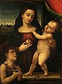 Mariotto Albertinelli (1474-1515) (studio of) - The Virgin and Child with the Infant Baptist - 162 - Fitzwilliam Museum.jpg