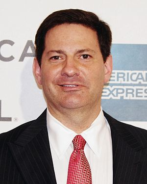 Mark Halperin - Halperin at the 2012 Tribeca Film Festival premiere of Knife Fight