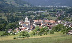 Village de Marlens.