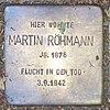 Stolperstein für Martin Röhmann