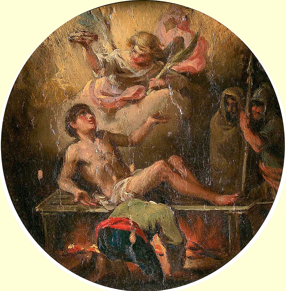 Martirio de San Lorenzo (Francisco de Goya)