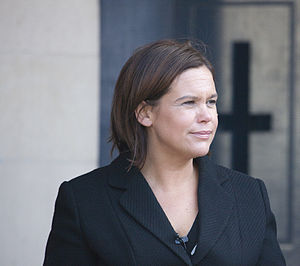 Mary Lou McDonald in 2009.