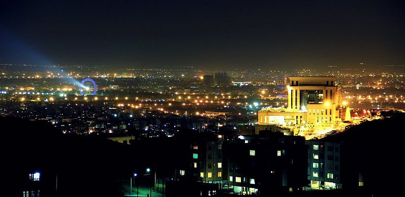 File:Mashhad City at night.jpg