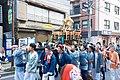 Matsuri parade, Nishiasakusa, May 2017.jpg