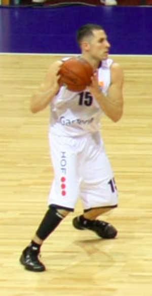 Matt Bauscher - Bauscher playing for GasTerra Flames in 2010