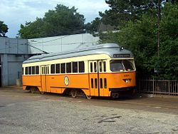 The Mattapan-Ashmont Trolley