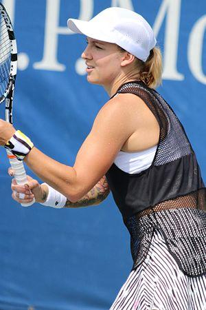 Bethanie Mattek-Sands - Mattek-Sands at the 2016 US Open
