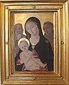 Matteo di giovanni, madonna col bambino con i santi girolamo e francesco.JPG