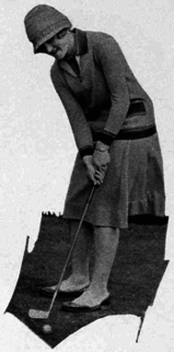 Maureen Orcutt Amateur golfer