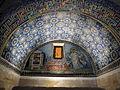 Mausoleo di galla placidia, int., san lorenzo alla graticola e armadio dei 4 vangeli, 01.JPG