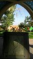 Mausoleum of Kamal al-Molk - Morning - Gravestone - Nishapur 03.JPG