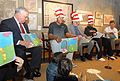 Mayor Thomas M. Menino reads to children with members of the Boston Celtics (22605608565).jpg