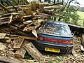 Mazda, in some parking difficulty - geograph.org.uk - 1021949.jpg