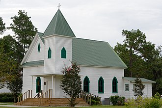 National Register of Historic Places listings in Burke County, Georgia - Image: Mc Canaan Missionary Baptist Church, Sardis, GA, US