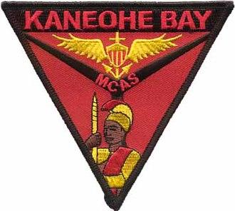 Marine Corps Air Station Kaneohe Bay - Image: Mcas kaneohe bay