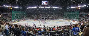 Arena Zagreb - Image: Medvescak in Arena Zagreb 2