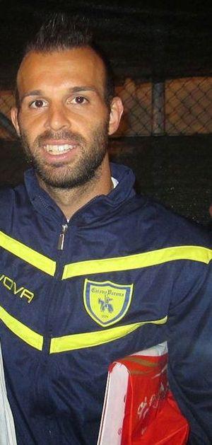Riccardo Meggiorini - Meggiorini playing for Chievo in 2014